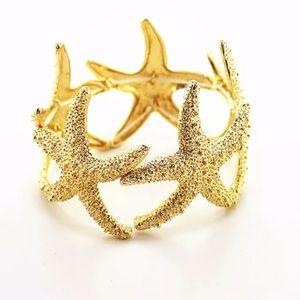Jewelry - Gold Starfish Bracelet